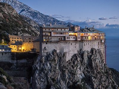 Massive influx of pilgrims is problem for Mt. Athos—abbot of Simonopetra
