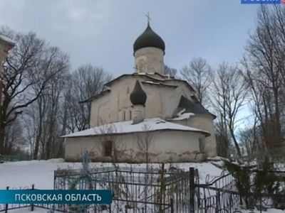 Collapsing 15th-century frescoed Pskov church to be restored