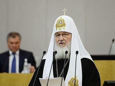 Patriarch Kirill confronts Duma on corruption, abortion