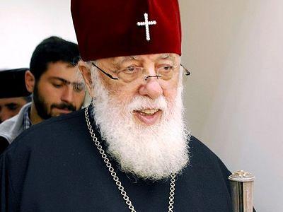 Patriarch Ilia II heads to Germany for treatment