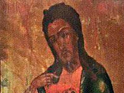 Miraculous icon of St. John the Baptist stolen from Lyadova monastery