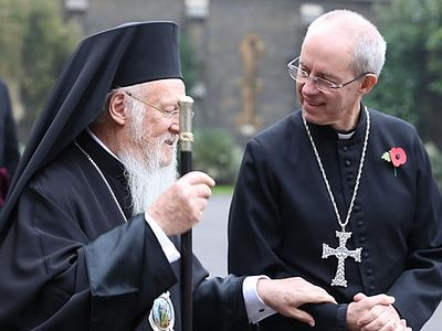 Patriarch of Constantinople, Archbishop of Canterbury sign joint declaration on slavery