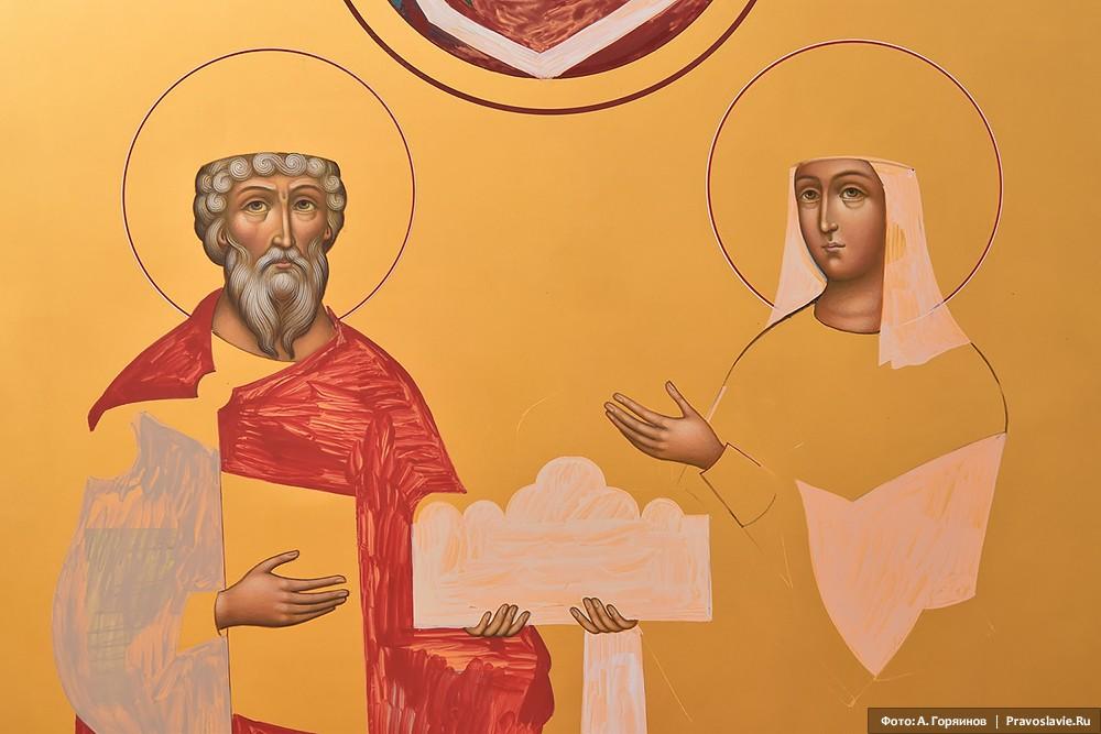 Святые равноапостольные Владимир и Ольга