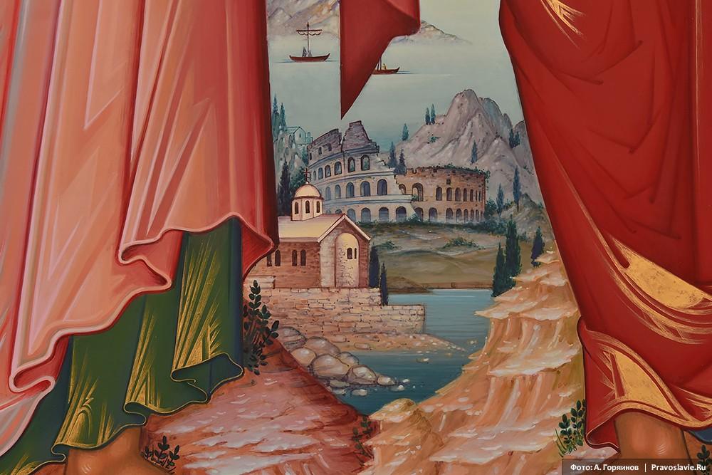Колизей. Фрагмент иконы апостолов Петра и Павла