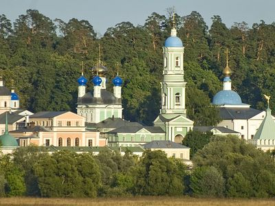 The Beautiful Architecture of Optina Pustyn, Spiritual Retreat of Tolstoy and Dostoevsky