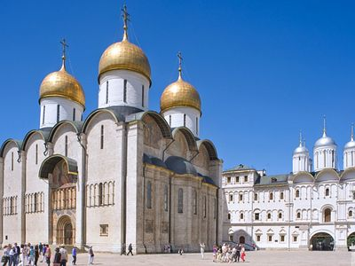 The Kremlin's Dormition Cathedral: Russia's Sacred Crown