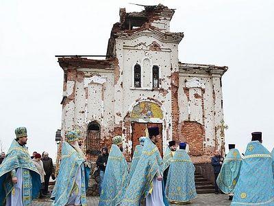 Донецк. Престольный праздник Иверского монастыря