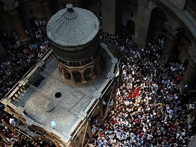 Restoration of Holy Sepulchre to be done in time for Holy Fire and Pascha