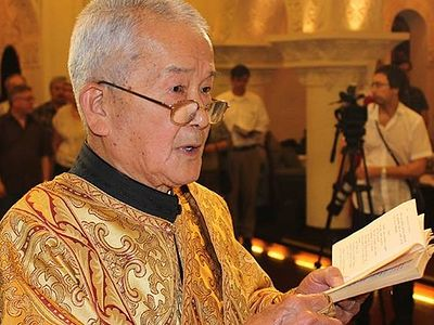 Last cleric of Beijing Mission reposes in the Lord