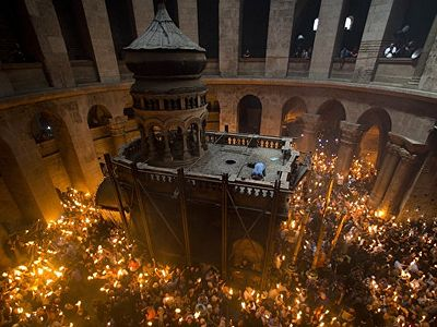 Edicule over Holy Sepulchre to open March 22-25
