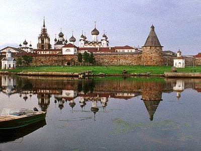 Solovetsky Transfiguration Monastery: From Prokudin-Gorsky to the present