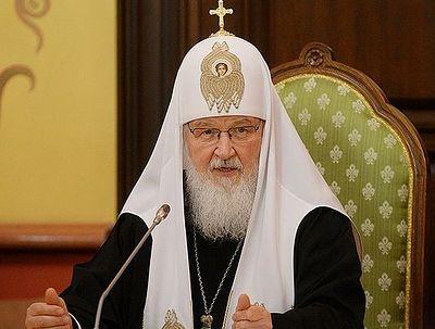 Патриарх Кирилл: Обществу нужны высокохудожественные произведения о новомучениках