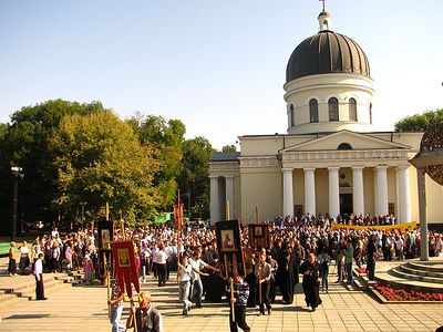 97% of Moldovans identify as Orthodox Christians