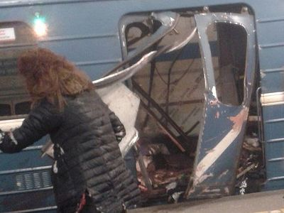 St. Petersburg metro rocked by two explosions in possible terrorist attack
