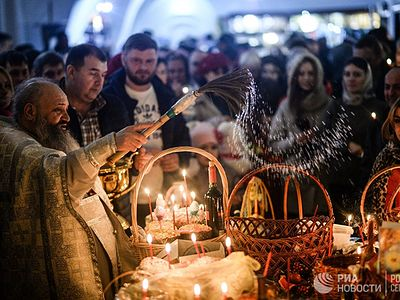 More than 4 million Russians took part in Paschal service
