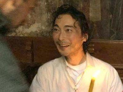 Japanese man baptized into Orthodoxy on Holy Saturday on Mt. Athos