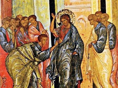 О богословии канона Фоминой недели