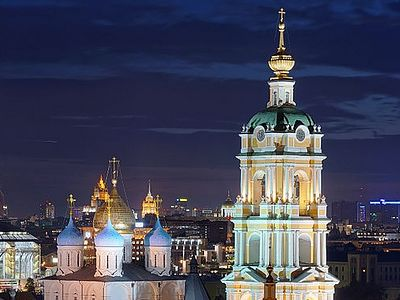3D panoramic tour of Moscow's Novospassky Monastery available online