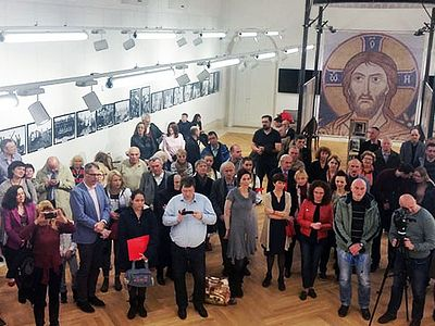 В «Русском доме» в Белграде прошла выставка о семье царя-мученика Николая II