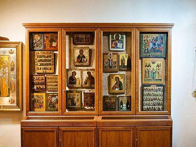 90-летний немец подарил русскому православному храму в Гамбурге коллекцию икон