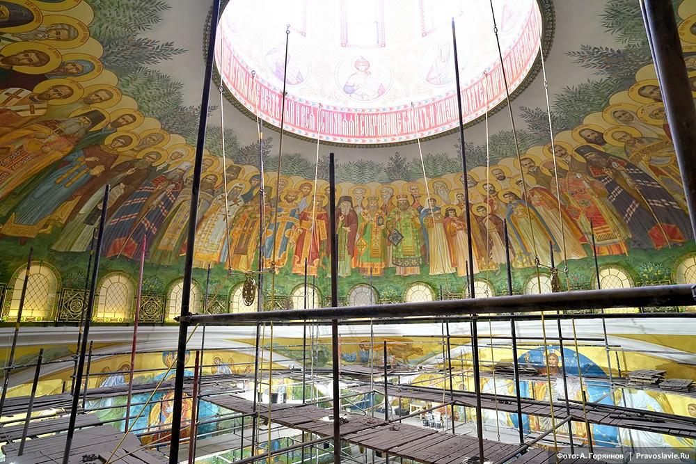 Росписи купола
