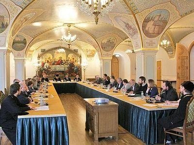 Заседание расширенного состава Экспертного совета по церковному искусству, архитектуре и реставрации