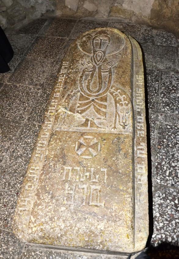 Надгробие святого Шио Мгвимского