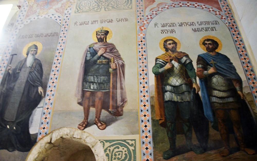 Фрески в храме Успения Божией Матери