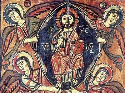 Вознесение Господне: иконы, фрески, мозаики