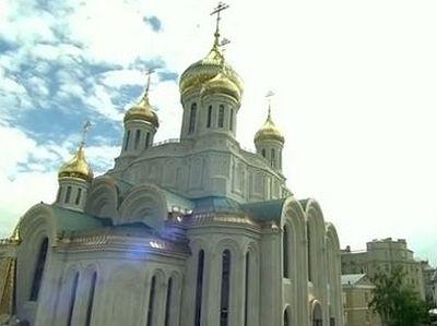 Владимир Путин на открытии Храма Новомучеников и Исповедников Церкви Русской