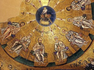Be Angry, and Sin Not. Homily on the Feast of Pentecost