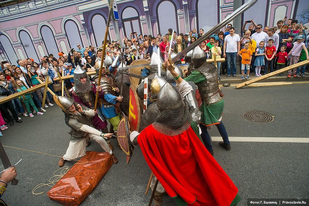 Средневековый бугурт