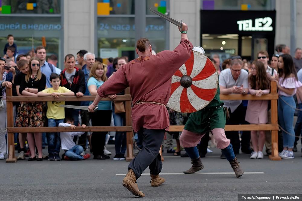 Поединок эпохи викингов