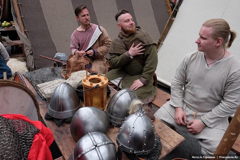 Раннесредневековые шлемы