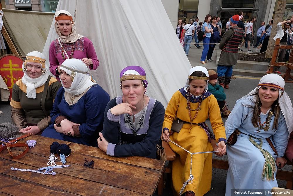 Древнерусские женщины
