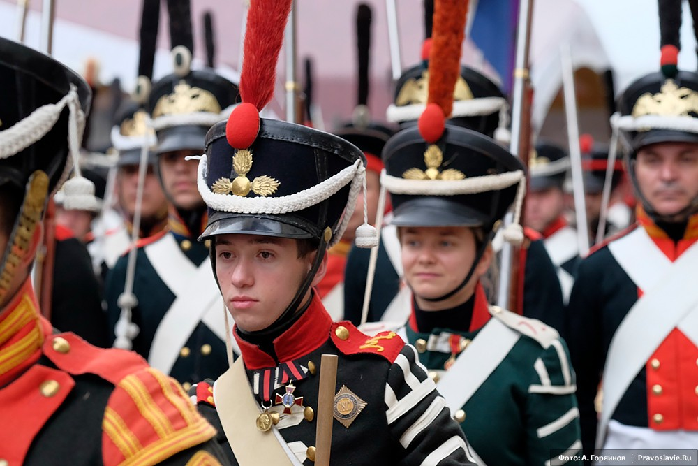 Русские пехотинцы войны 1812 года