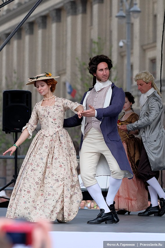 Танцы XVIII века
