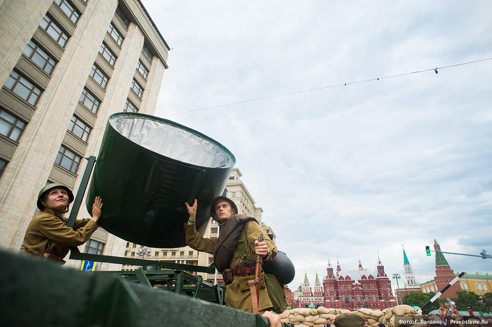 Прожектор времен Великой Отечественной войны