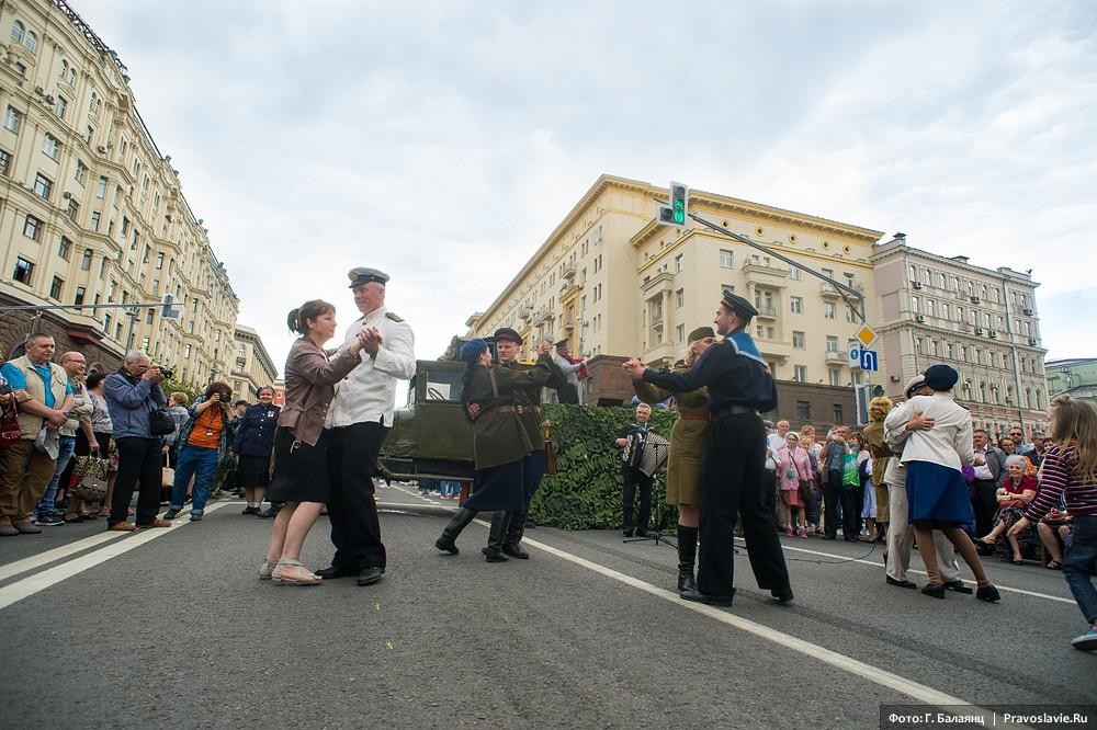 Танцы военного времени