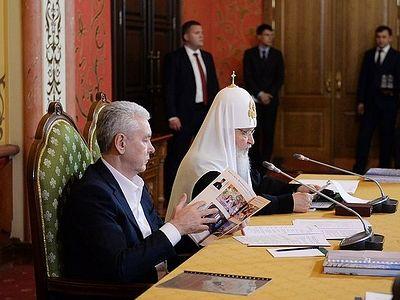 Слово на VII заседании Попечительского совета Фонда поддержки строительства храмов г. Москвы