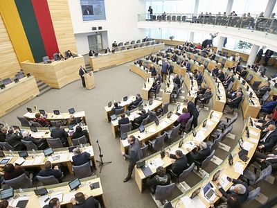 Lithuanian parliament roundly rejects gay marriage