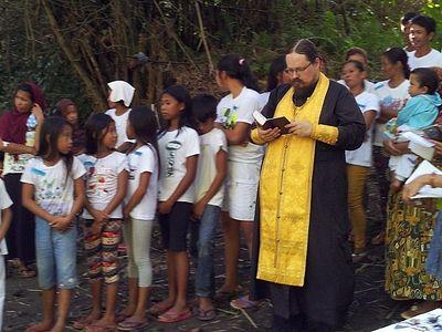 Mass Baptism in Arakan, Philippines