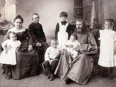 Священник как семьянин
