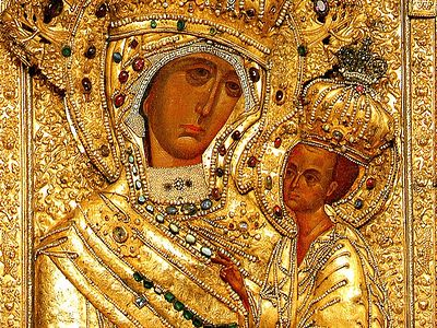 The Tikhvin Icon: The Protectress of Russia