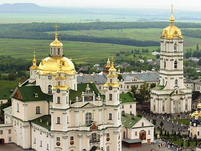 Pochaev Lavra in Ukraine prays for salvation of Russia and restoration of monarchy