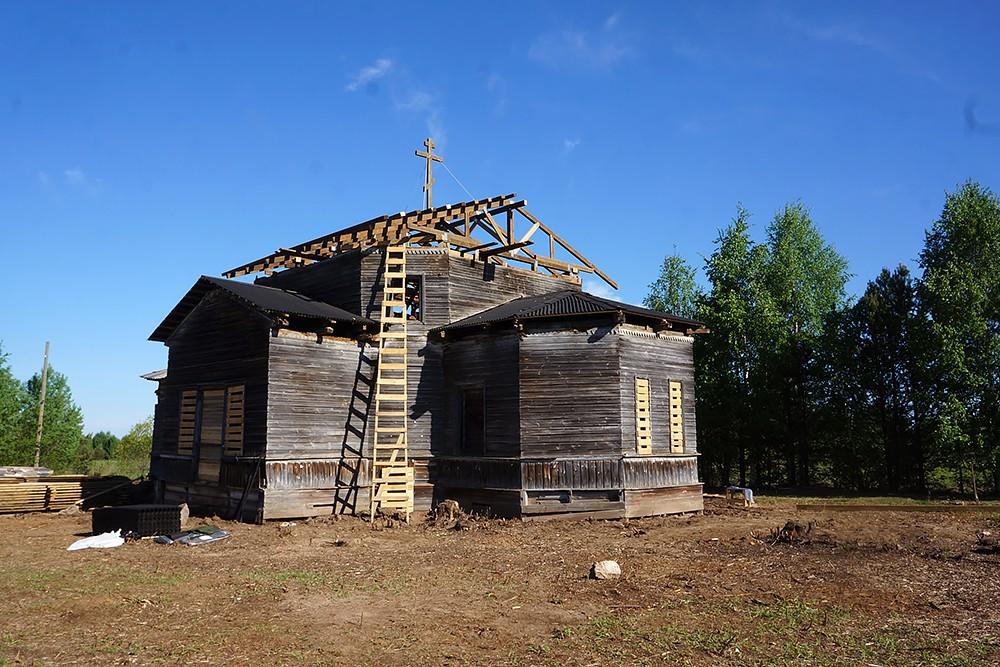 Храм Лазаря Четверодневного после восстановительных работ