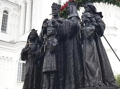 New monument to Royal Martyrs opened in Diveyevo