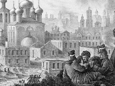 Храмы России глазами наполеоновского солдата