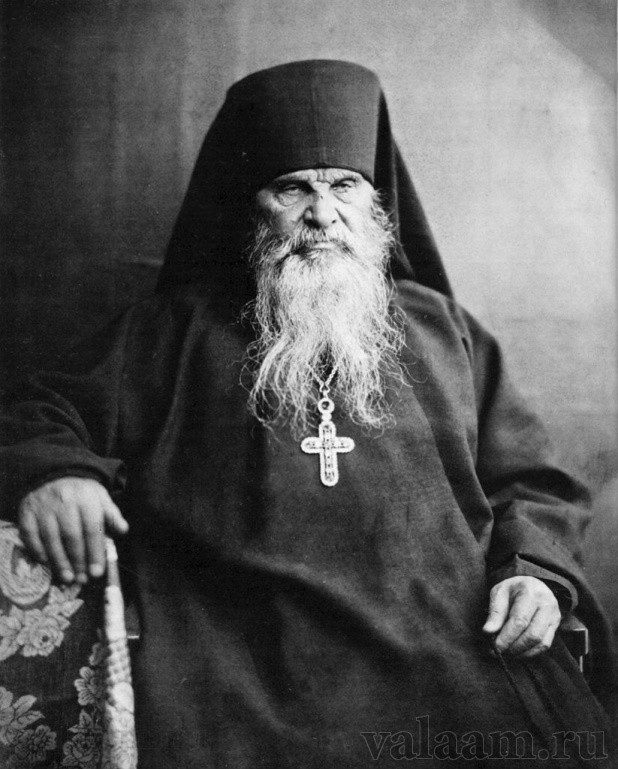 Abbot Damascene, reviver of monastic life on Valaam.