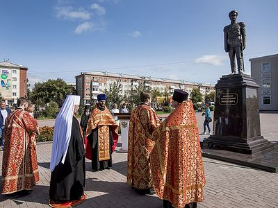 Monument to Tsar-Martyr Nicholas opened in Russian mining town